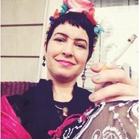 Smoking Frida, yes another homage